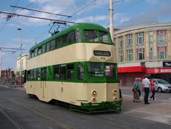 Blackpool Tram 715